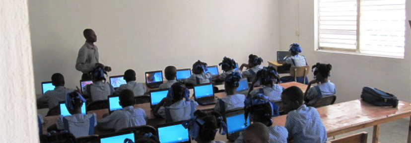 Computer Classes at St. Louis High School