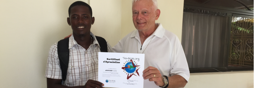 Haiti Staff Member Receives an Award!